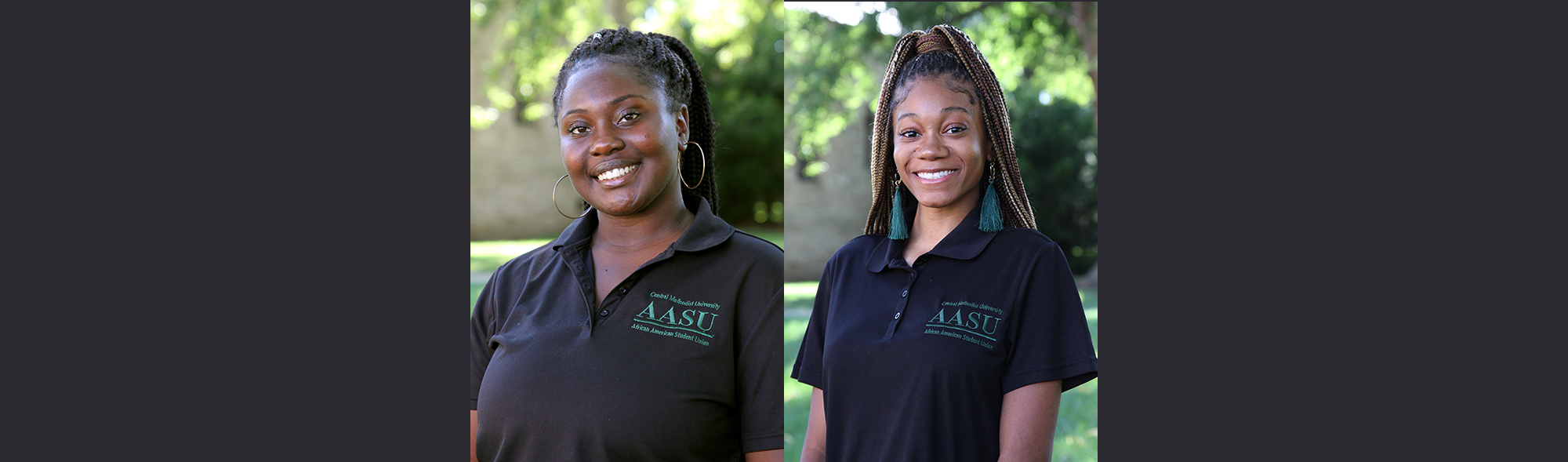AASU president and vice president for 2020-21
