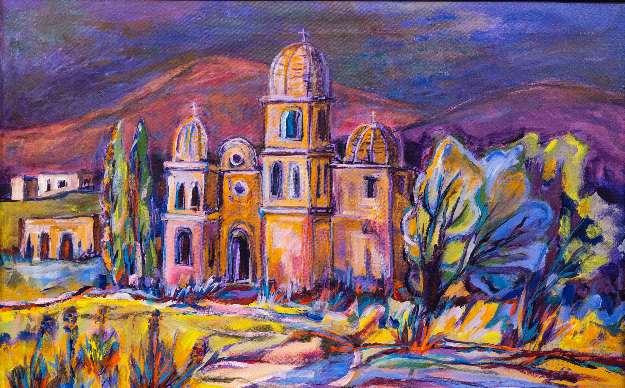 Colorful Cathedral by Mary K Sloan