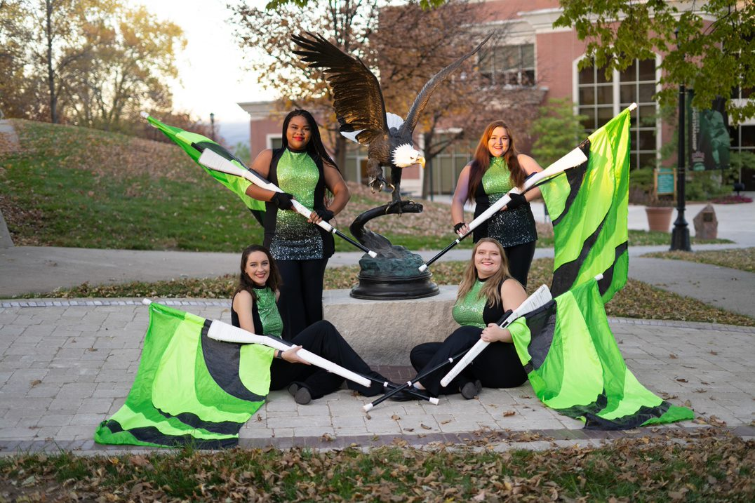 CMU Color Guard