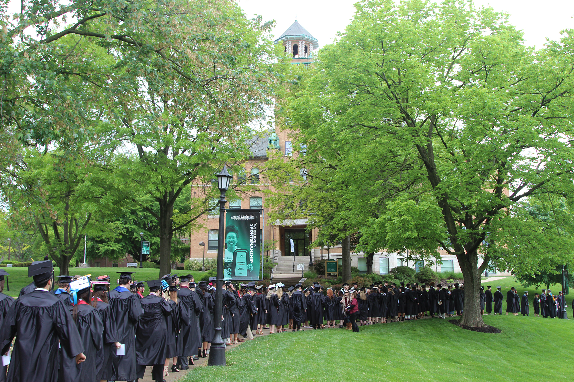 Central Methodist graduation lineup
