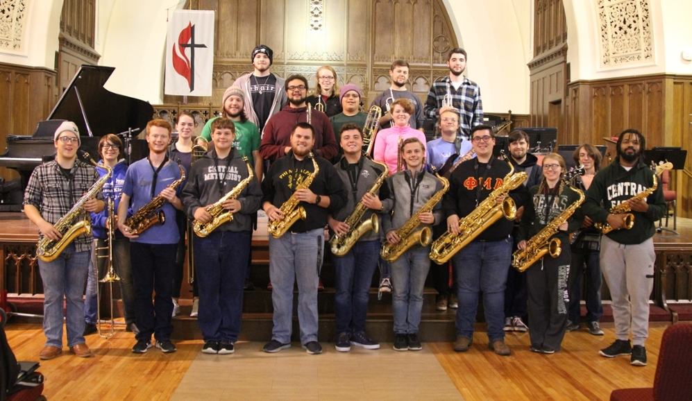 The 2019 CMU Jazz Band
